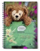 Bear And His Girl Spiral Notebook