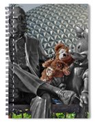 Bear And His Mentors Walt Disney World 04 Spiral Notebook