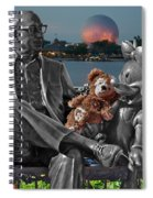 Bear And His Mentors Walt Disney World 05 Spiral Notebook