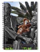 Bear And His Mentors Walt Disney World 06 Spiral Notebook
