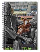 Bear And His Mentors Walt Disney World 07 Spiral Notebook