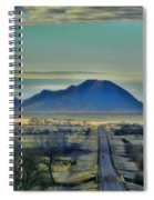 Bear Butte Surreal Spiral Notebook