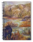 Bear In The Slough Spiral Notebook