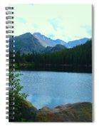 Bear Lake - Colorado Spiral Notebook