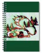 Bear Track 11 Spiral Notebook