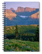 Bear Valley Glacier National Park Spiral Notebook