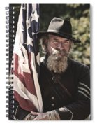 Bearing Old Glory D0256 Spiral Notebook