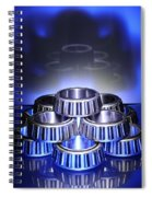 Bearings In Blue Spiral Notebook