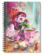 Bearnadette Spiral Notebook