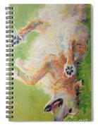 Bear's Backscratch For Phone Cases Spiral Notebook
