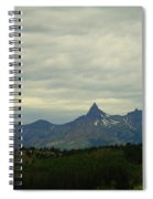 Beartooth Mountain Montana Spiral Notebook