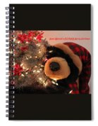 Beary Merry Christmas Spiral Notebook