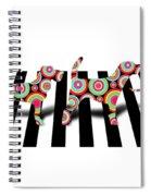 Beatles Dogs Spiral Notebook
