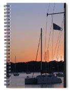 Beaufort Sc Sunset Spiral Notebook