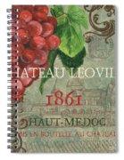 Beaujolais Nouveau 1 Spiral Notebook