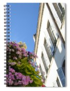 Windows With Flowers Spiral Notebook