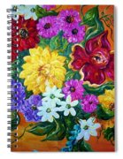 Beauties In Bloom Spiral Notebook