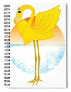 Beautiful Is The Flamingo Spiral Notebook
