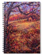 Beautiful Autumn Spiral Notebook