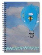 Beautiful Balloon Spiral Notebook