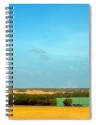 Beautiful Bay In A Desert Spiral Notebook
