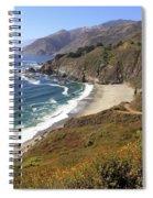 Beautiful Big Sur Coastline Spiral Notebook