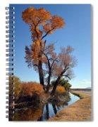 Beautiful Bishop Canal Spiral Notebook