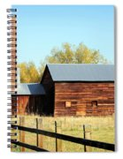 Beautiful Brick Silo Spiral Notebook