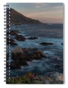 Beautiful California Coast In Spring Spiral Notebook