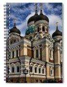 Beautiful Cathedral In Tallinn Estonia Spiral Notebook