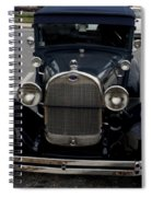 Beautiful Classic Car Front View Spiral Notebook