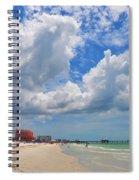 Beautiful Clearwater Beach Spiral Notebook