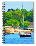 Beautiful Day For Sailing Spiral Notebook