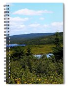 Beautiful Day In The Country Spiral Notebook