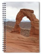 Beautiful Delicate Arch Spiral Notebook