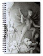 Surreal Kolkata Spiral Notebook