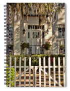 Beautiful Entryway On The Isle Of Hope Spiral Notebook