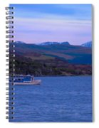 Beautiful Evening At Ullapool Spiral Notebook