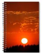 Beautiful Evening I Spiral Notebook
