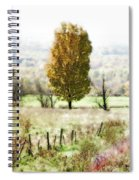 Beautiful Fall Landscape - Looks Like A Painting Spiral Notebook