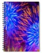 Beautiful Fireworks 10 Spiral Notebook