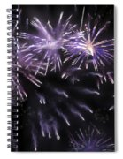 Beautiful Fireworks 7 Spiral Notebook