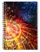 Beautiful Fireworks 8 Spiral Notebook