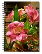 Beautiful Floral  Spiral Notebook