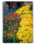Beautiful Flower Garden Bellagio Las Vegas Spiral Notebook