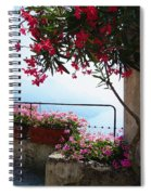 Beautiful Flowers Of Ravello Italy Spiral Notebook