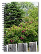 Beautiful Front Yard - Roses - Trees Spiral Notebook