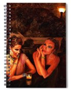 Beautiful Gossipers Spiral Notebook
