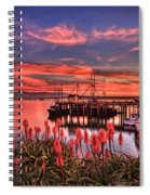 Beautiful Harbor Spiral Notebook