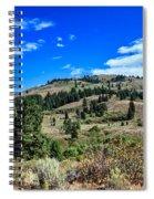 Beautiful Hillside Spiral Notebook